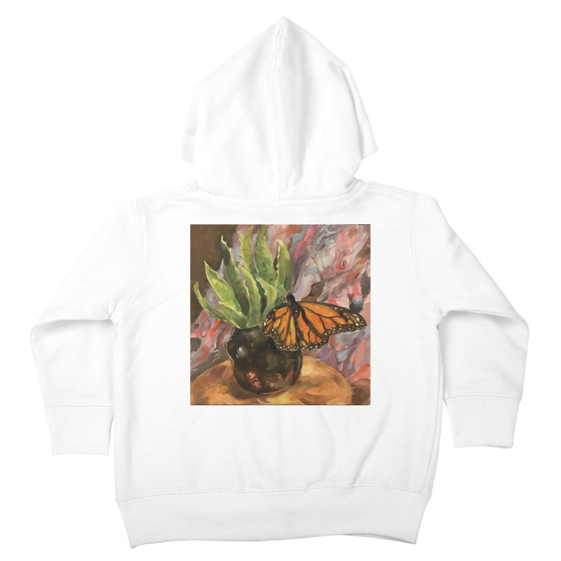 Still Life With Butterfly Kids Toddler Zip-Up Hoody by JPayneArt's Artist Shop