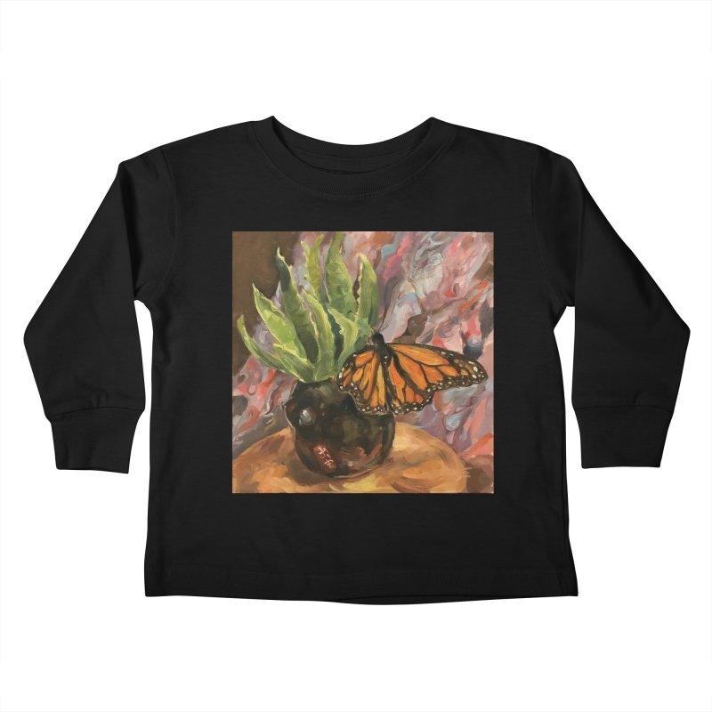 Still Life With Butterfly Kids Toddler Longsleeve T-Shirt by JPayneArt's Artist Shop