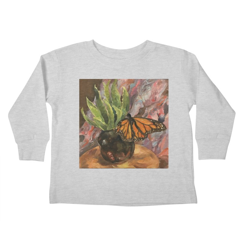Still Life With Butterfly Kids Toddler Longsleeve T-Shirt by JPayneArt's Artist Shop