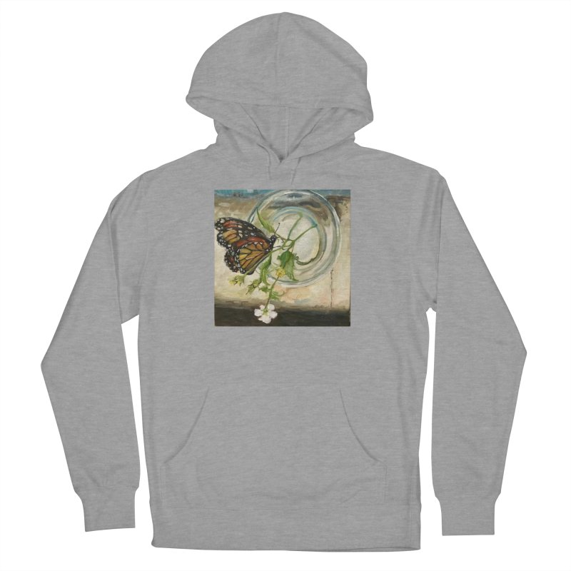 Butterfly with Clovers Men's French Terry Pullover Hoody by JPayneArt's Artist Shop