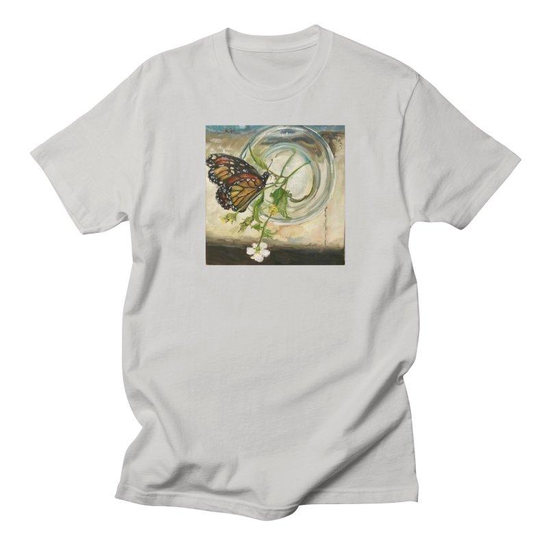Butterfly with Clovers Women's Regular Unisex T-Shirt by JPayneArt's Artist Shop
