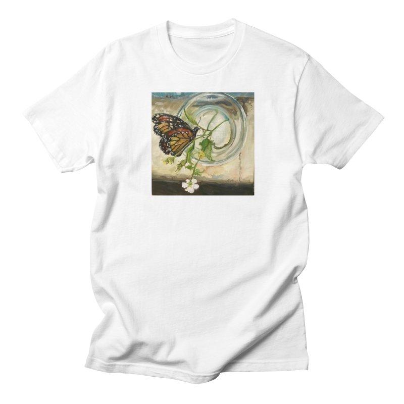 Butterfly with Clovers Men's Regular T-Shirt by JPayneArt's Artist Shop