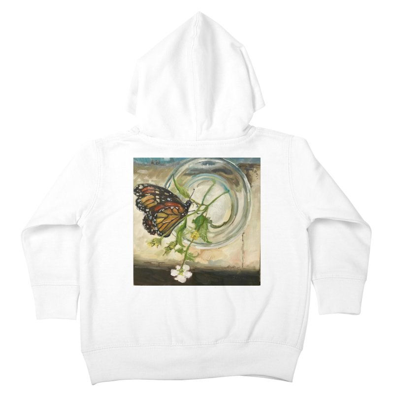 Butterfly with Clovers Kids Toddler Zip-Up Hoody by JPayneArt's Artist Shop
