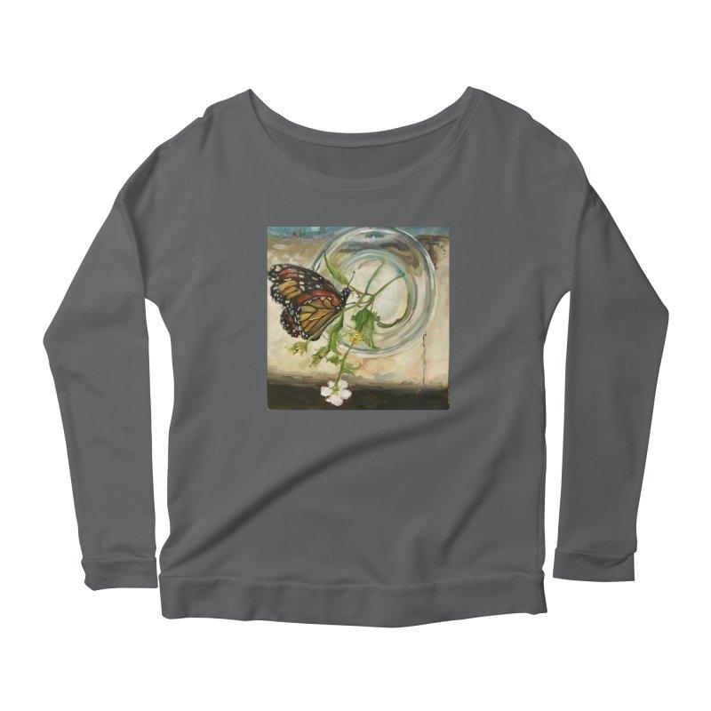 Butterfly with Clovers Women's Longsleeve T-Shirt by JPayneArt's Artist Shop
