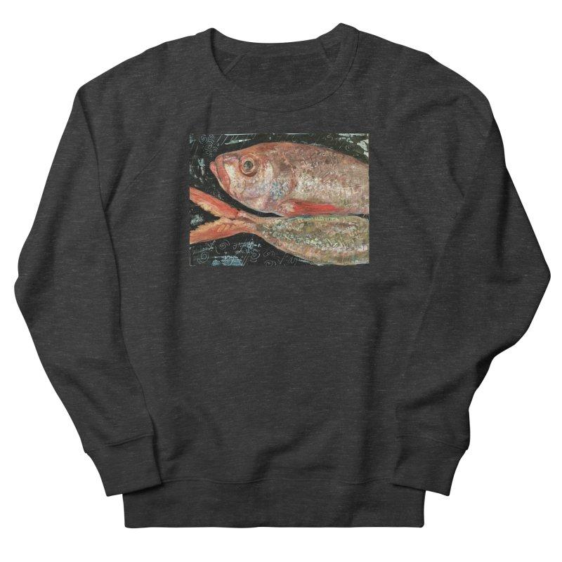 Fish Design Women's French Terry Sweatshirt by JPayneArt's Artist Shop