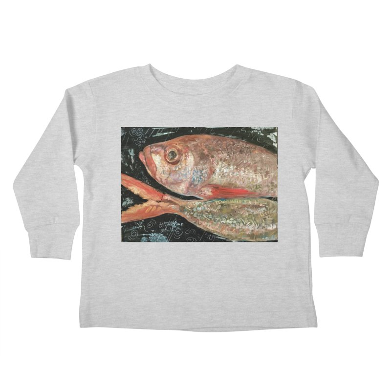 Fish Design Kids Toddler Longsleeve T-Shirt by JPayneArt's Artist Shop