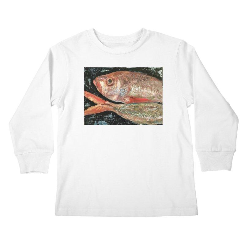 Fish Design Kids Longsleeve T-Shirt by JPayneArt's Artist Shop