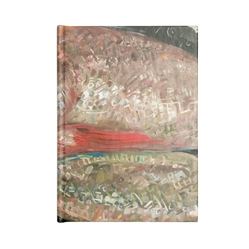 Fish Design Accessories Lined Journal Notebook by JPayneArt's Artist Shop