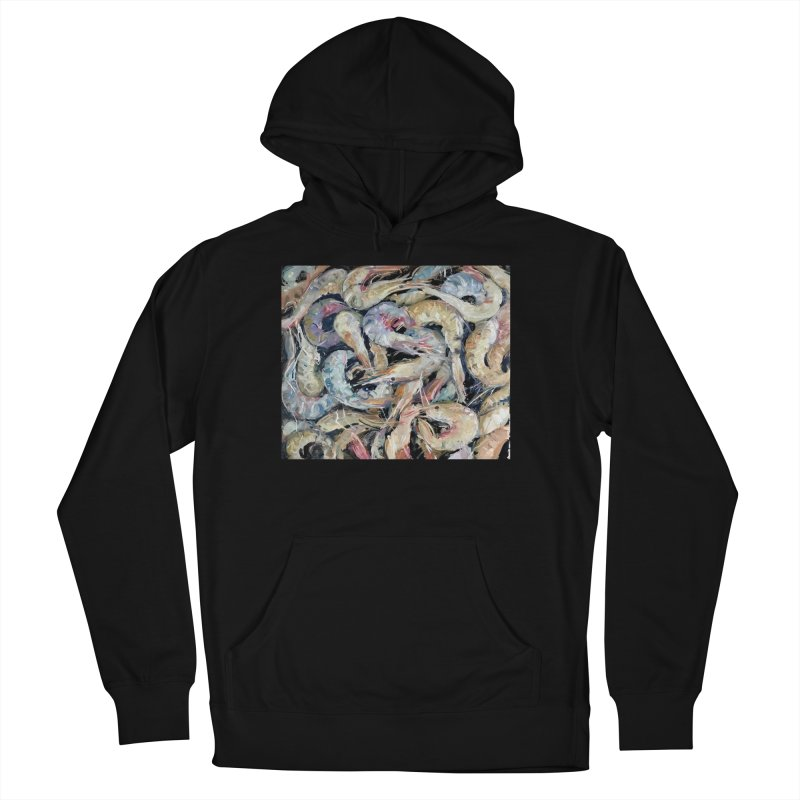 Fresh Colorful Shrimp Women's French Terry Pullover Hoody by JPayneArt's Artist Shop