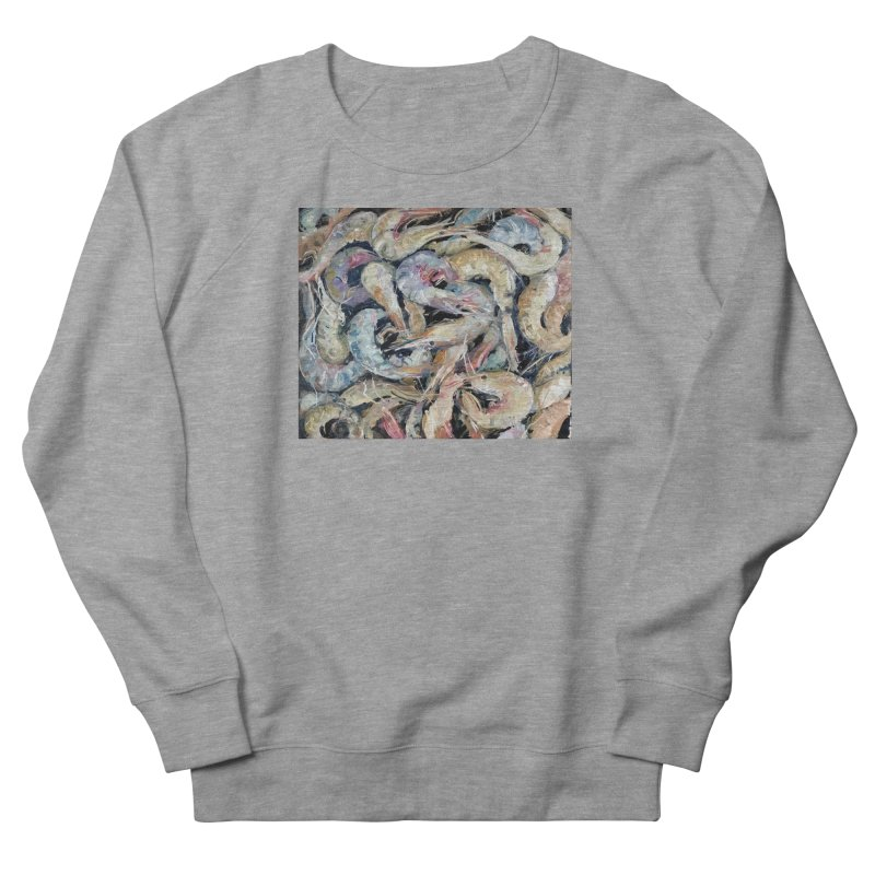 Fresh Colorful Shrimp Women's French Terry Sweatshirt by JPayneArt's Artist Shop