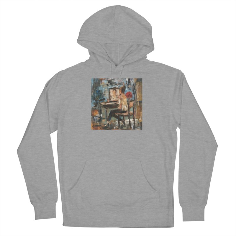 BackStage Men's French Terry Pullover Hoody by JPayneArt's Artist Shop