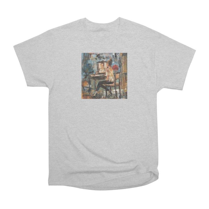 BackStage Men's Heavyweight T-Shirt by JPayneArt's Artist Shop