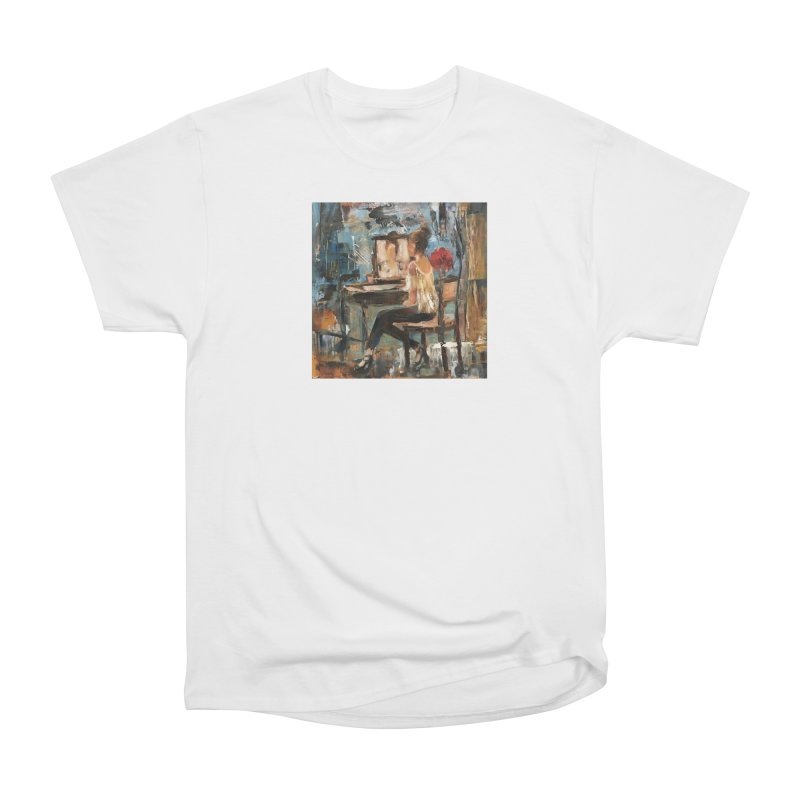 BackStage Women's Heavyweight Unisex T-Shirt by JPayneArt's Artist Shop