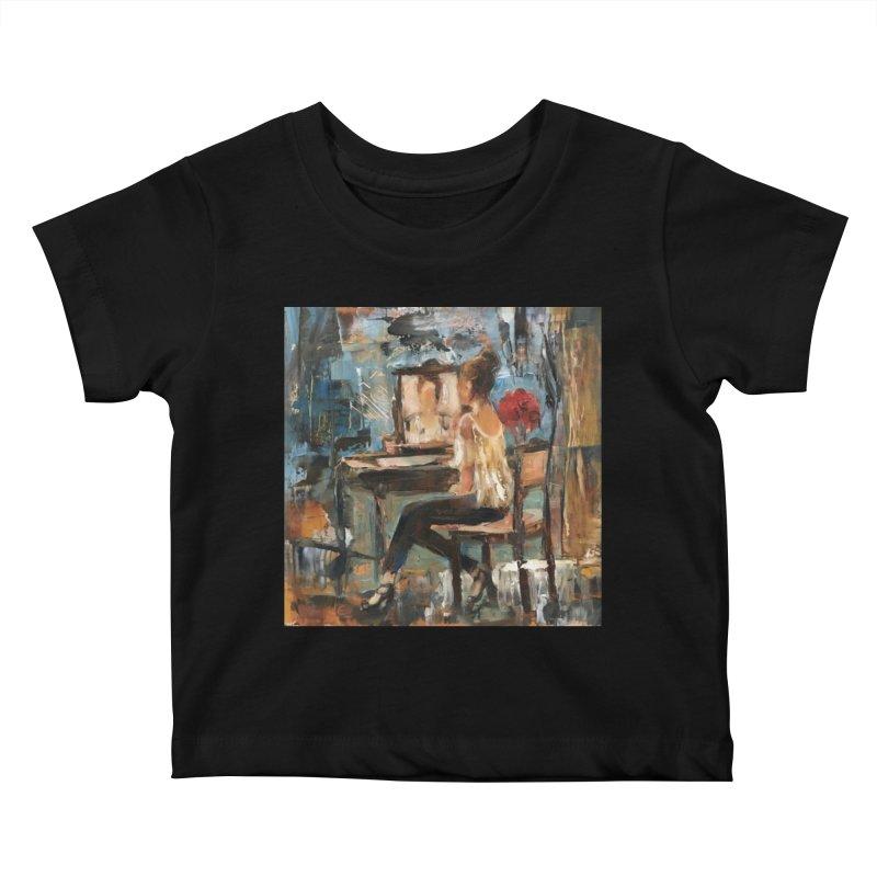 BackStage Kids Baby T-Shirt by JPayneArt's Artist Shop
