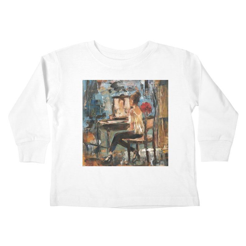 BackStage Kids Toddler Longsleeve T-Shirt by JPayneArt's Artist Shop