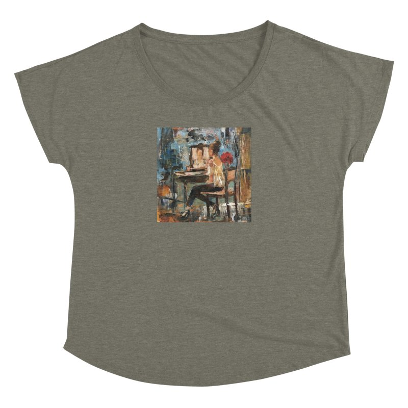BackStage Women's Dolman Scoop Neck by JPayneArt's Artist Shop