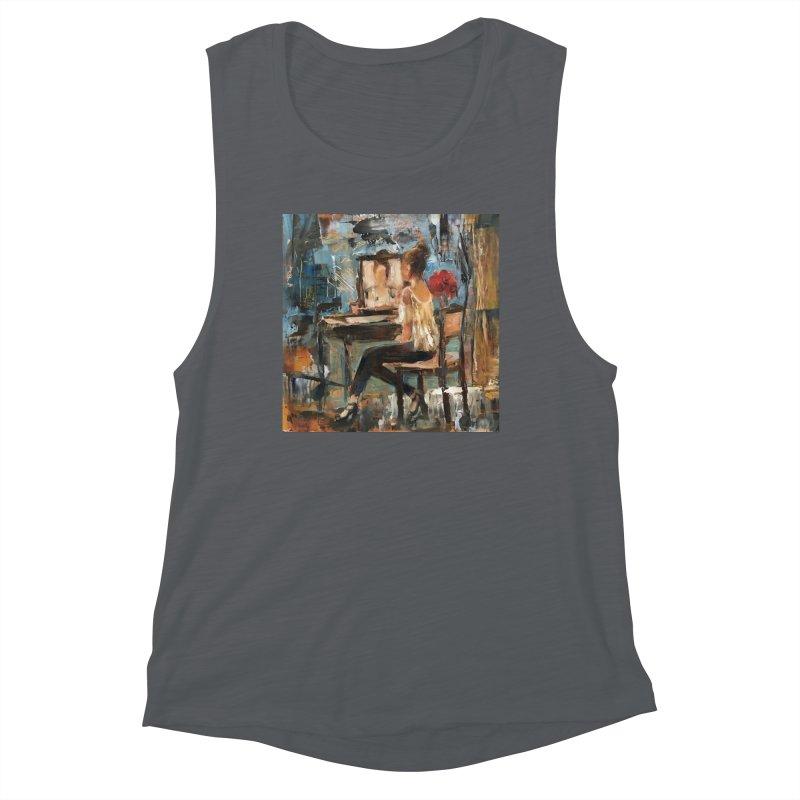 BackStage Women's Muscle Tank by JPayneArt's Artist Shop
