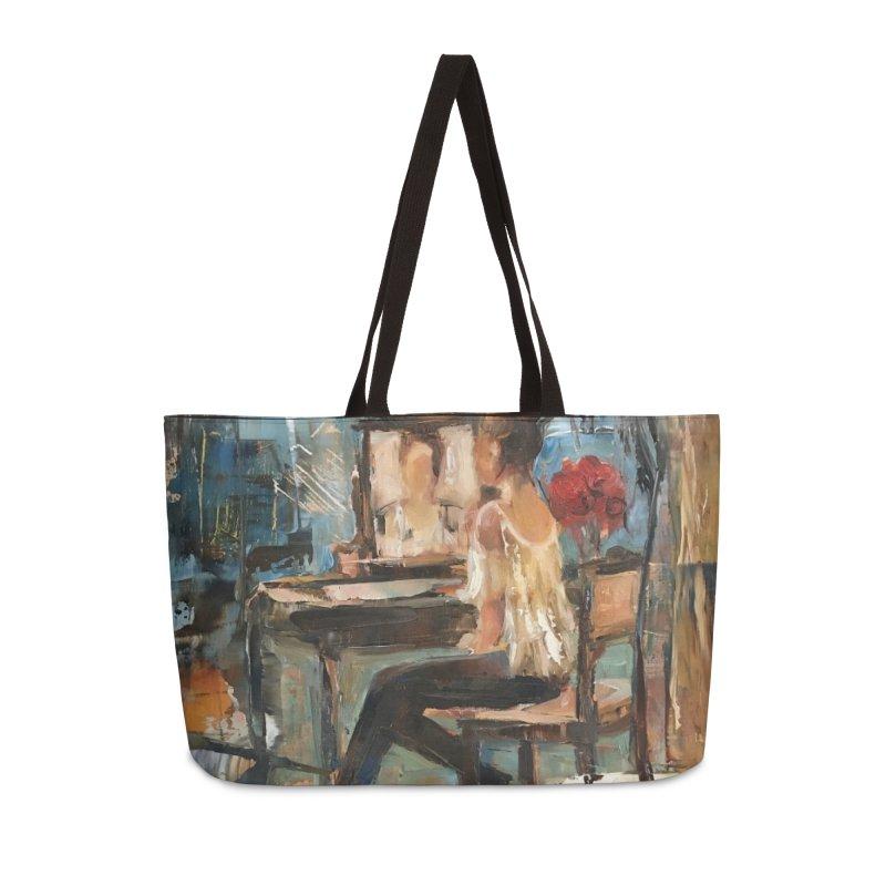 BackStage Accessories Weekender Bag Bag by JPayneArt's Artist Shop