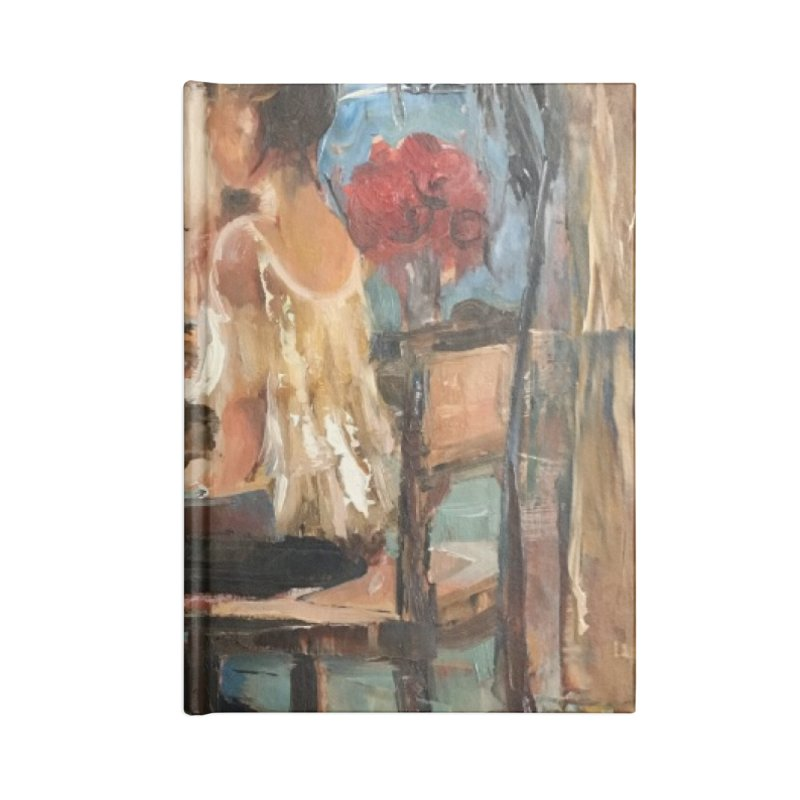 BackStage Accessories Lined Journal Notebook by JPayneArt's Artist Shop