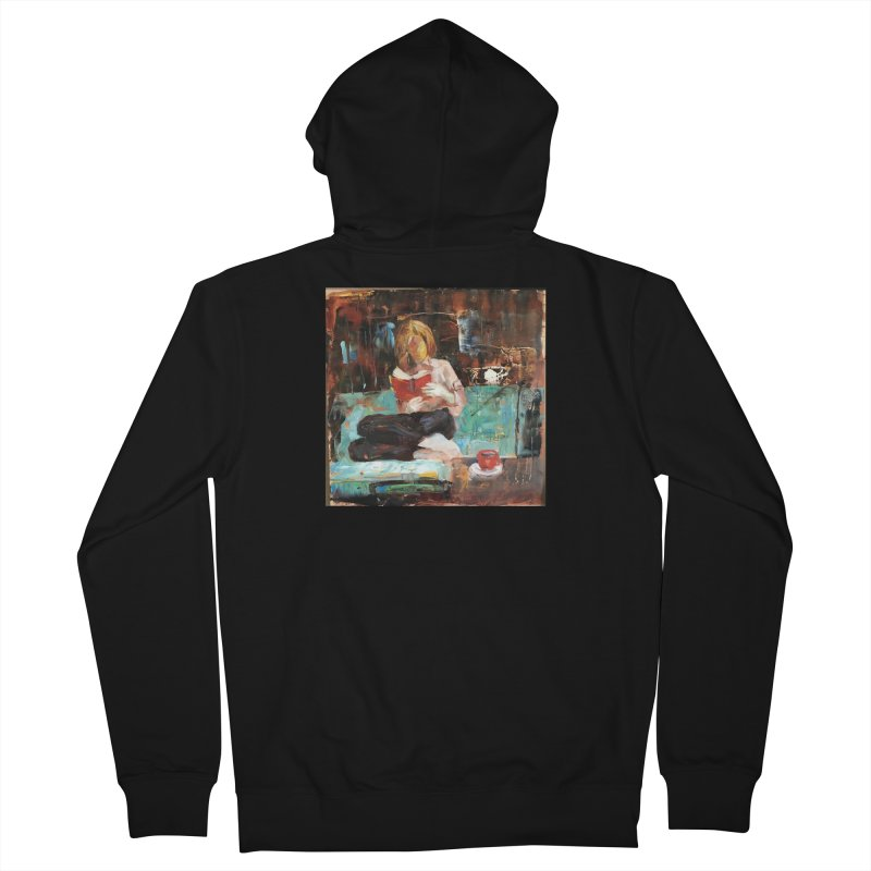 Perfect Day Women's French Terry Zip-Up Hoody by JPayneArt's Artist Shop