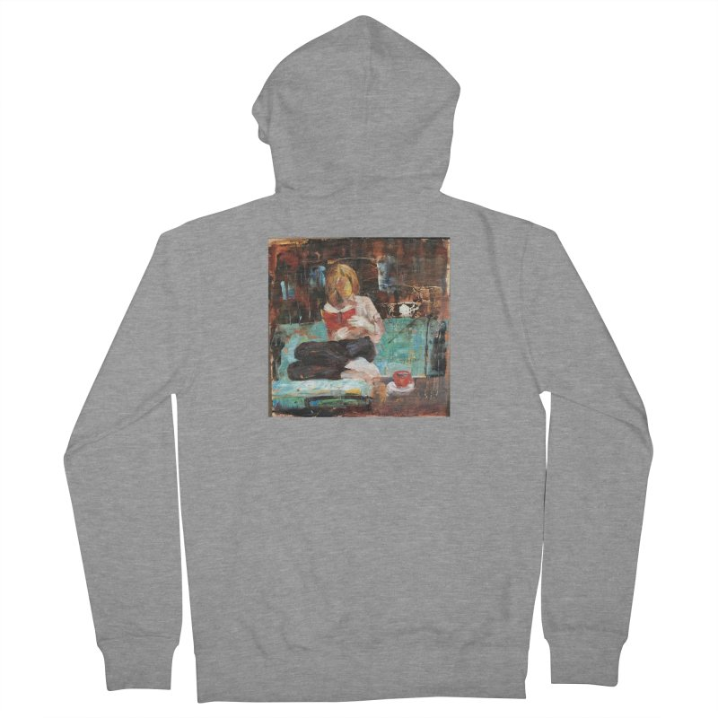 Perfect Day Men's French Terry Zip-Up Hoody by JPayneArt's Artist Shop