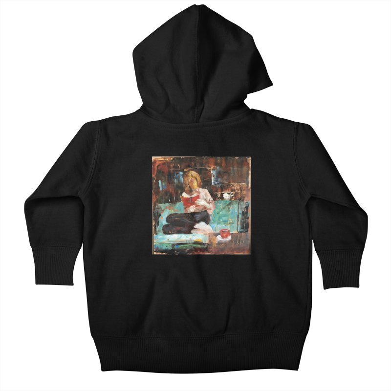 Perfect Day Kids Baby Zip-Up Hoody by JPayneArt's Artist Shop