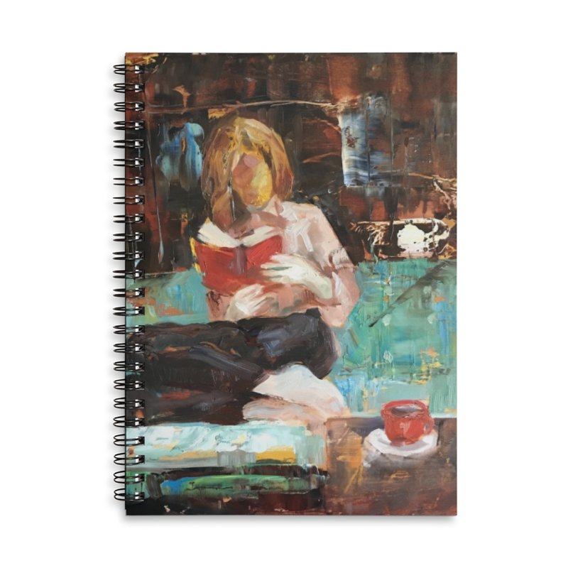 Perfect Day Accessories Lined Spiral Notebook by JPayneArt's Artist Shop