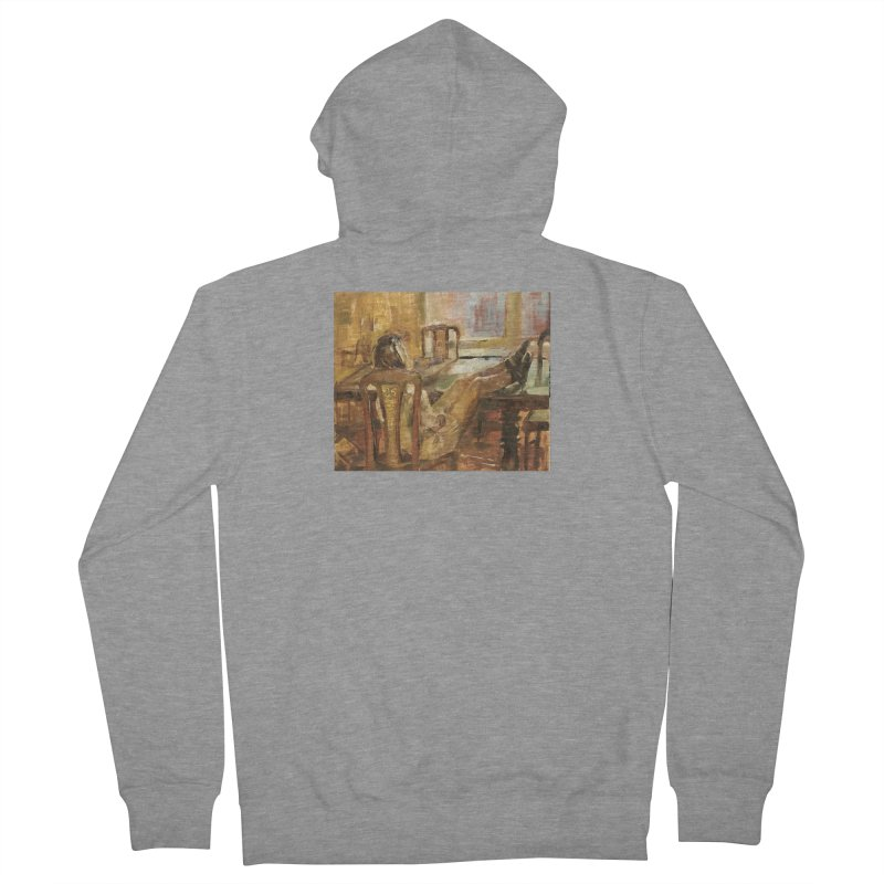 Day Dreaming Women's French Terry Zip-Up Hoody by JPayneArt's Artist Shop