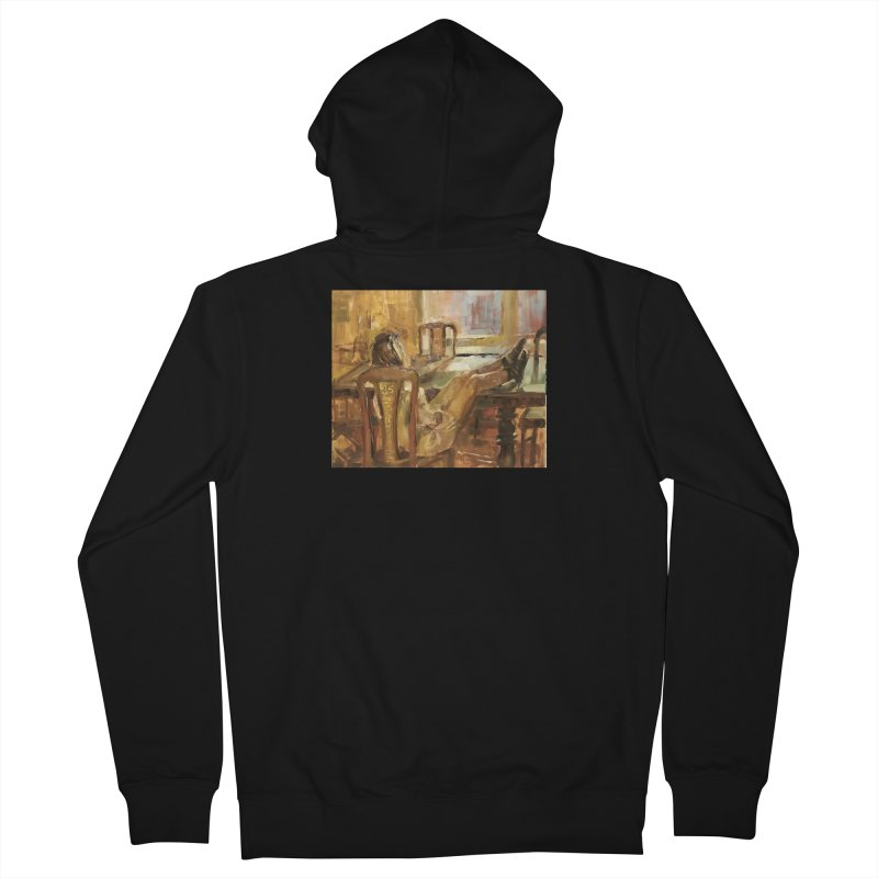 Day Dreaming Men's French Terry Zip-Up Hoody by JPayneArt's Artist Shop