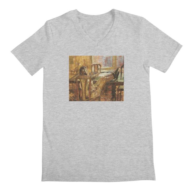 Day Dreaming Men's Regular V-Neck by JPayneArt's Artist Shop