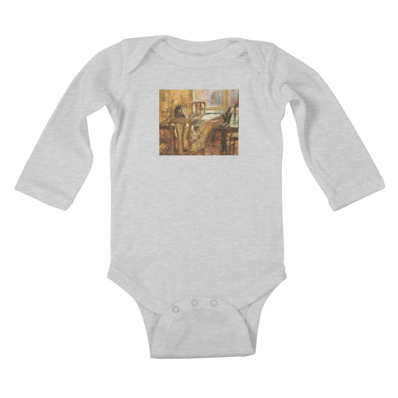 Day Dreaming Kids Baby Longsleeve Bodysuit by JPayneArt's Artist Shop