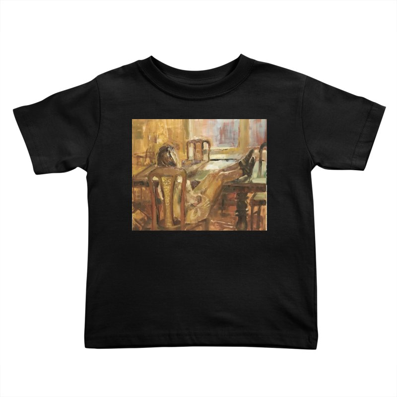 Day Dreaming Kids Toddler T-Shirt by JPayneArt's Artist Shop