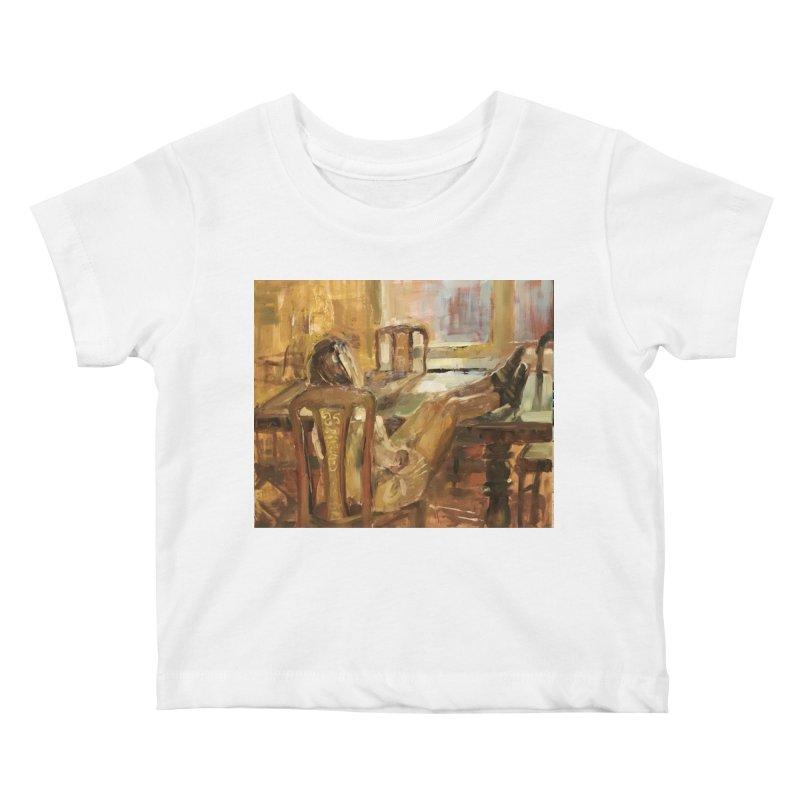 Day Dreaming Kids Baby T-Shirt by JPayneArt's Artist Shop