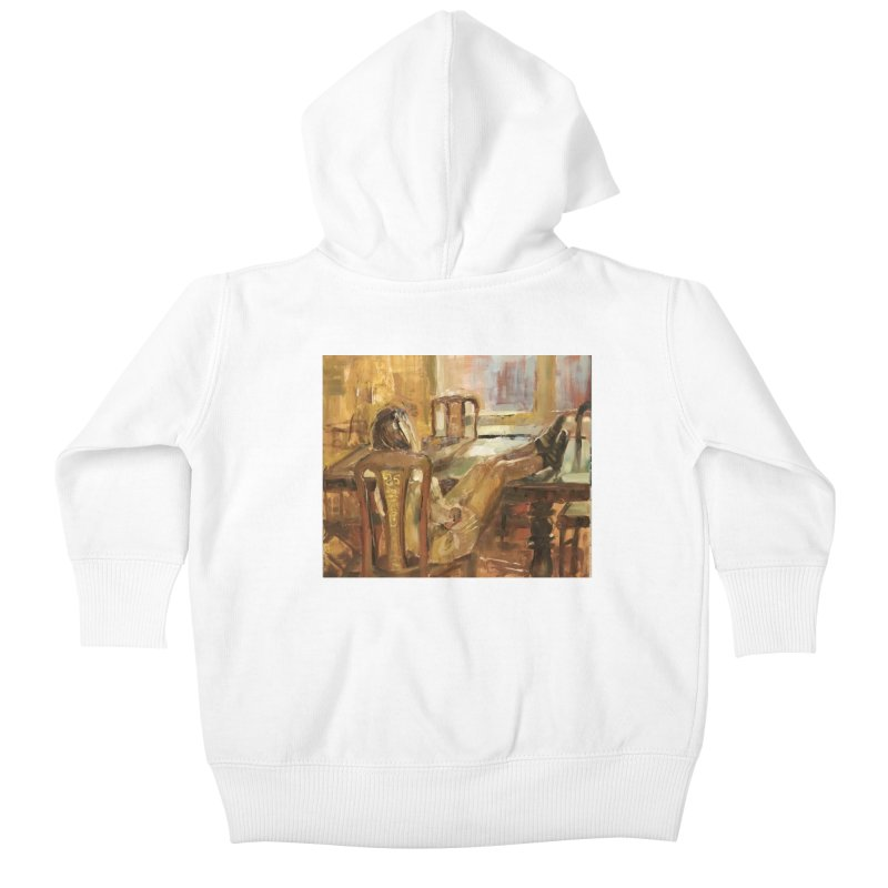 Day Dreaming Kids Baby Zip-Up Hoody by JPayneArt's Artist Shop