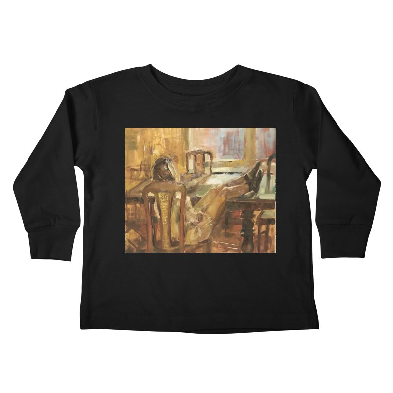 Day Dreaming Kids Toddler Longsleeve T-Shirt by JPayneArt's Artist Shop