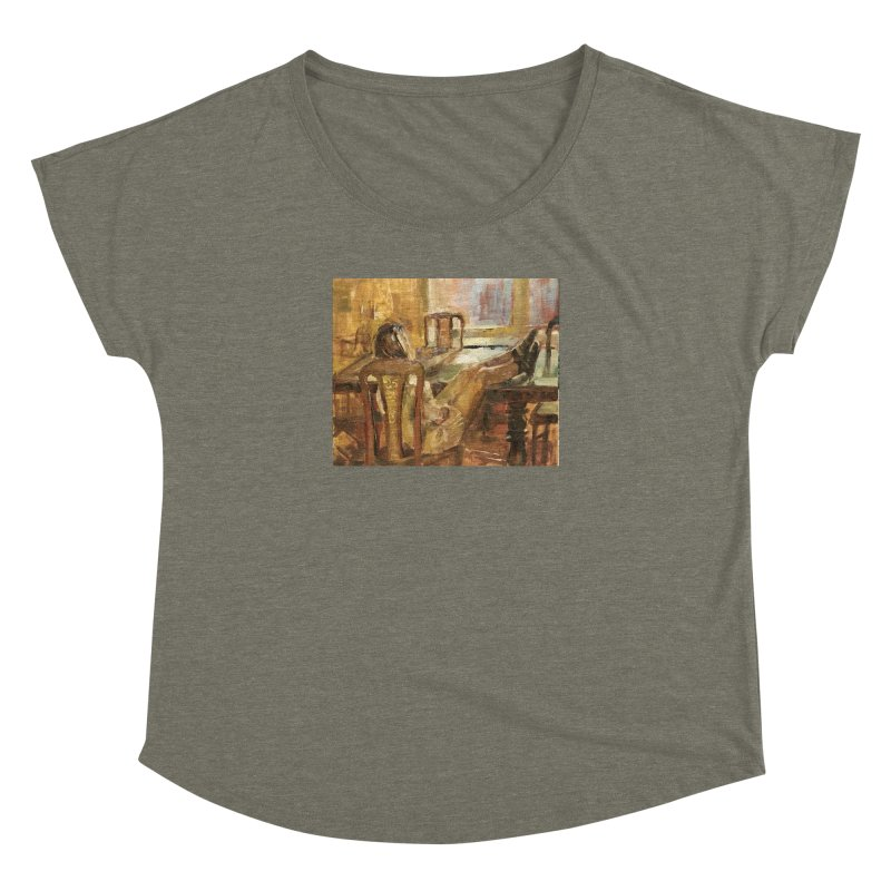 Day Dreaming Women's Dolman Scoop Neck by JPayneArt's Artist Shop