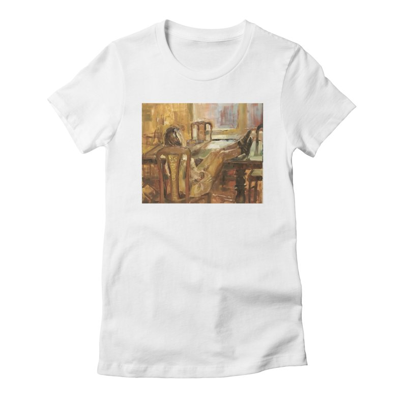 Day Dreaming Women's Fitted T-Shirt by JPayneArt's Artist Shop