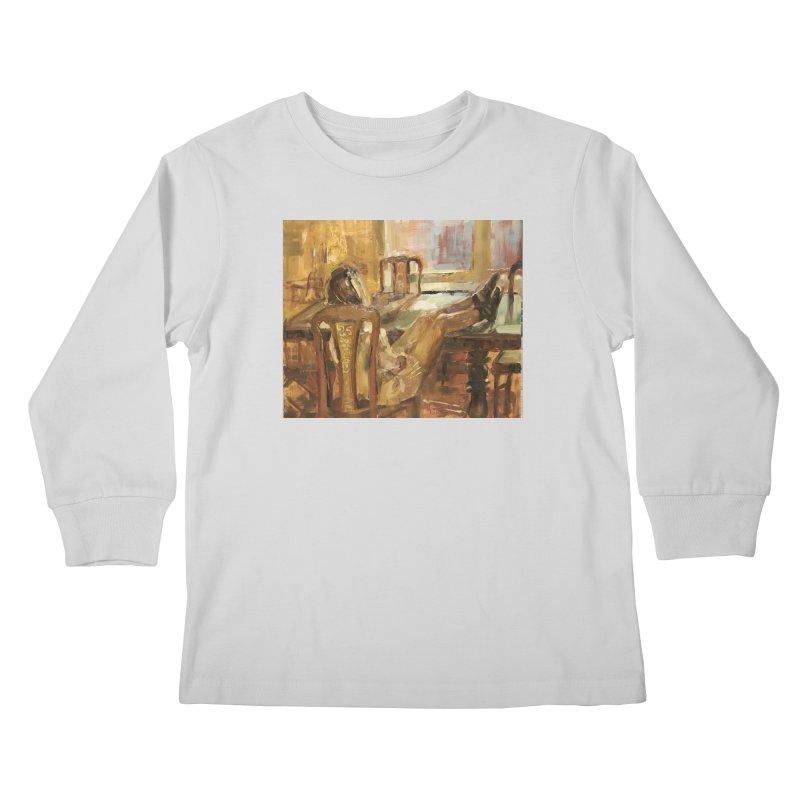 Day Dreaming Kids Longsleeve T-Shirt by JPayneArt's Artist Shop