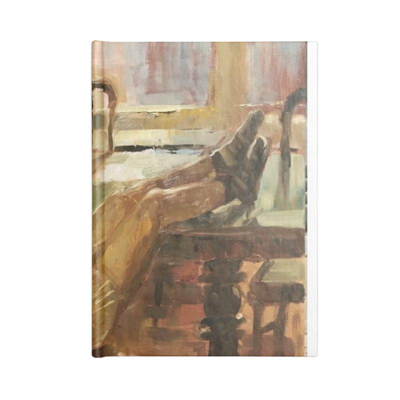 Day Dreaming Accessories Blank Journal Notebook by JPayneArt's Artist Shop