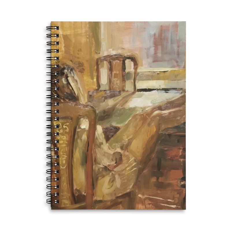 Day Dreaming Accessories Lined Spiral Notebook by JPayneArt's Artist Shop
