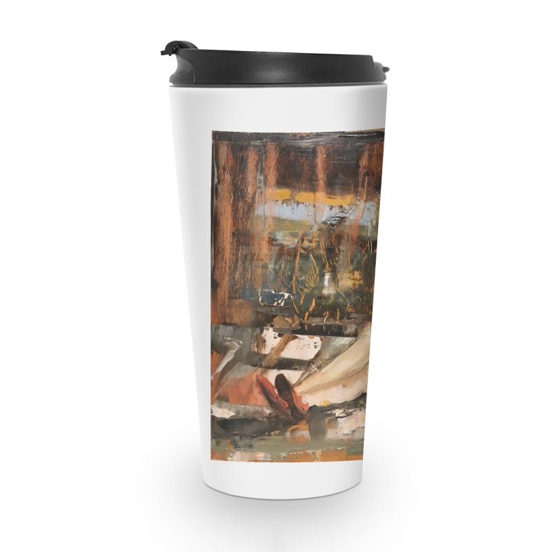 Red Shoes Accessories Travel Mug by JPayneArt's Artist Shop