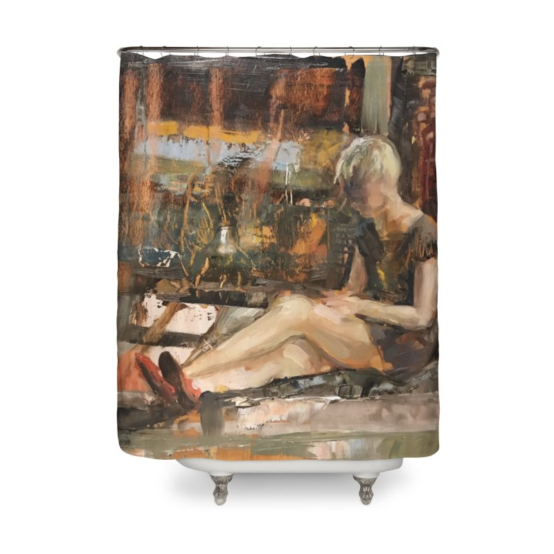 Red Shoes Home Shower Curtain by JPayneArt's Artist Shop