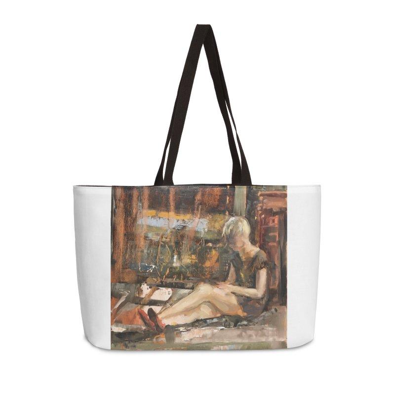 Red Shoes Accessories Weekender Bag Bag by JPayneArt's Artist Shop