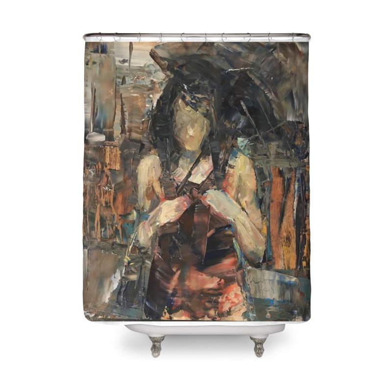 Shopping Day Home Shower Curtain by JPayneArt's Artist Shop