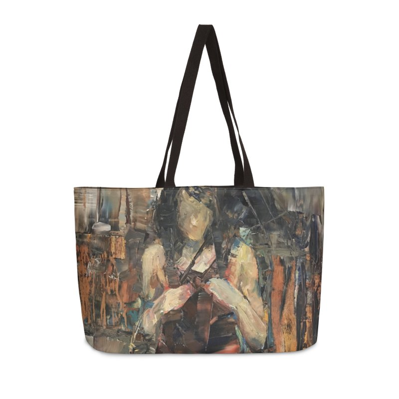 Shopping Day Accessories Weekender Bag Bag by JPayneArt's Artist Shop