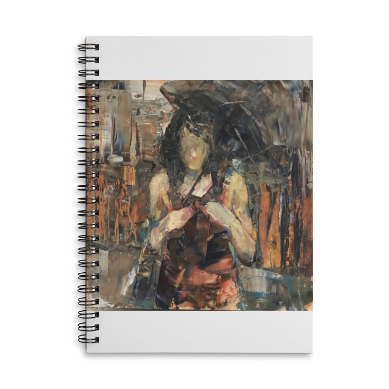 Shopping Day Accessories Lined Spiral Notebook by JPayneArt's Artist Shop