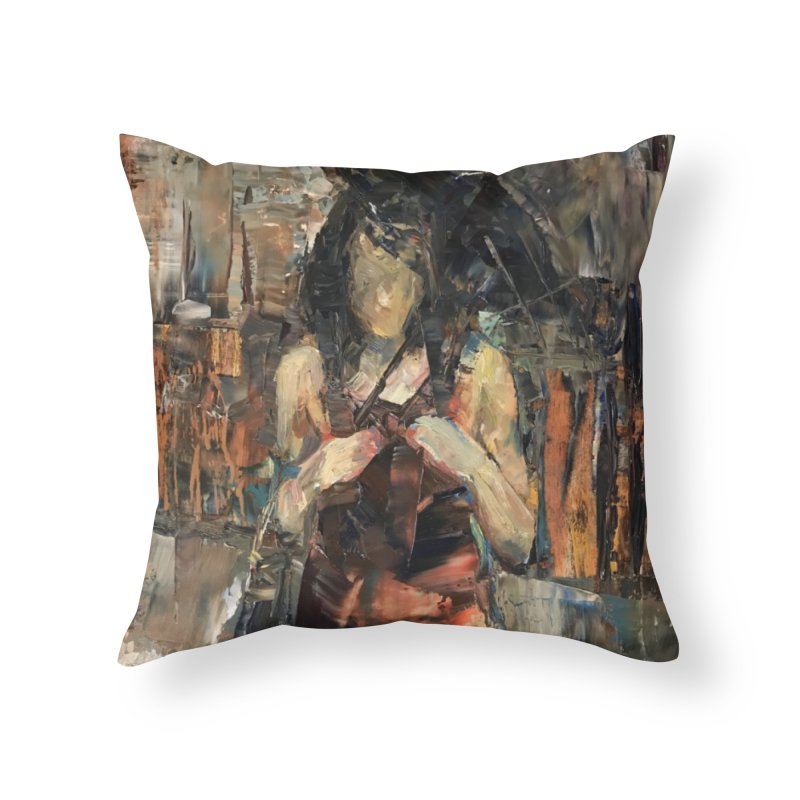 Shopping Day Home Throw Pillow by JPayneArt's Artist Shop