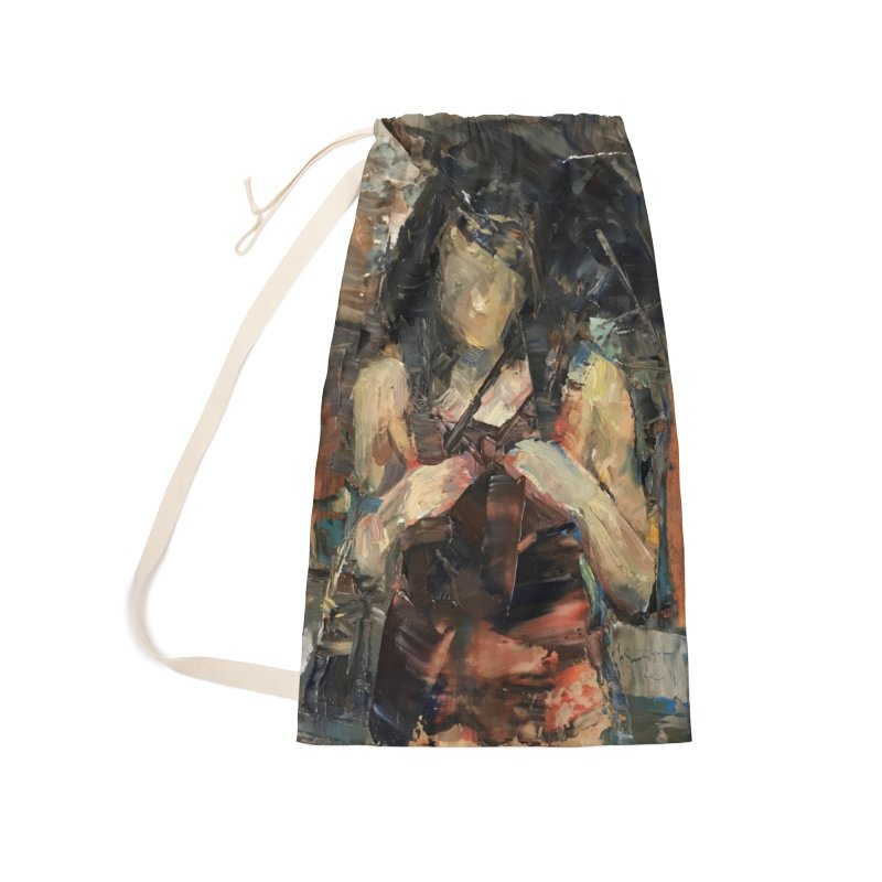 Shopping Day Accessories Laundry Bag Bag by JPayneArt's Artist Shop