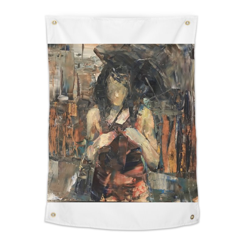 Shopping Day Home Tapestry by JPayneArt's Artist Shop