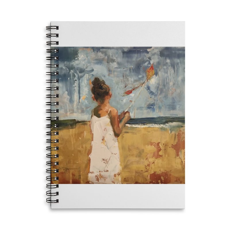 MarchWinds Accessories Lined Spiral Notebook by JPayneArt's Artist Shop